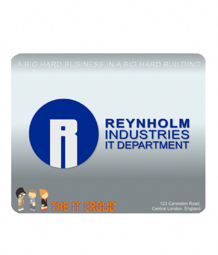 The IT Crowd Inspired PC Computer Mouse Mat Reynholm Industries Design